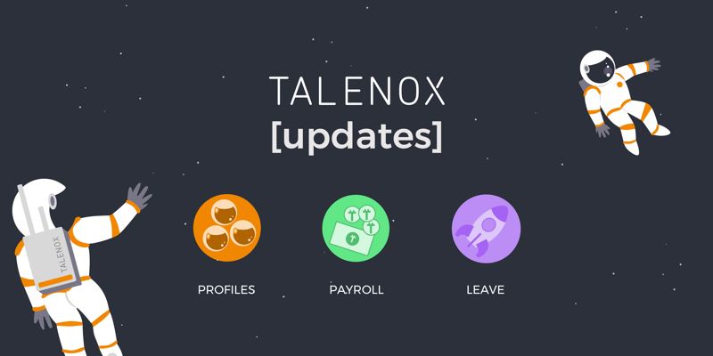 Talenox Updates – 14 March 2018