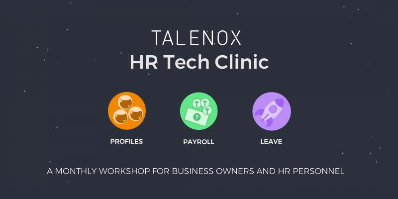 Talenox HR Tech Clinic 2018 Recap