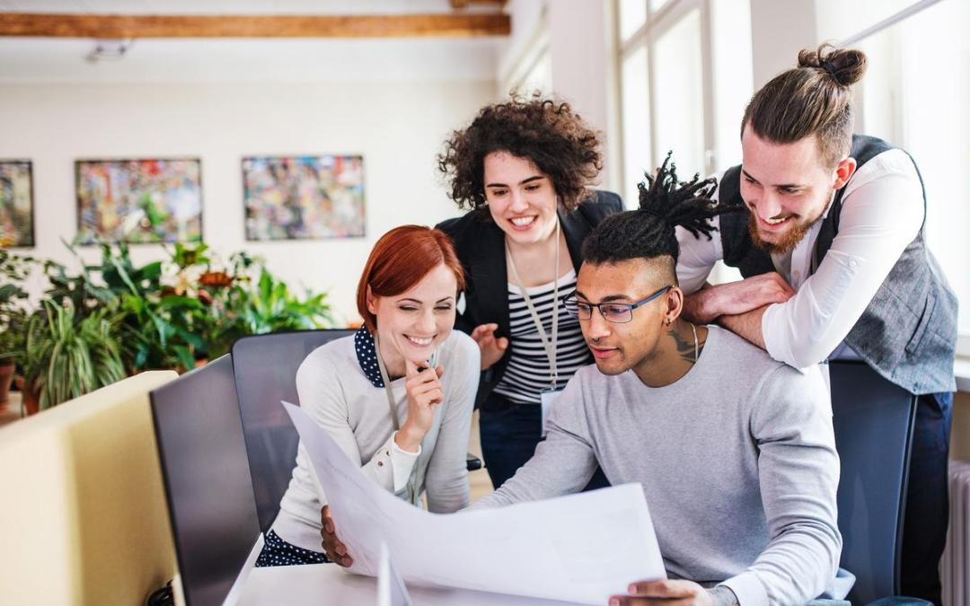 How co-working spaces can drive innovation for small businesses
