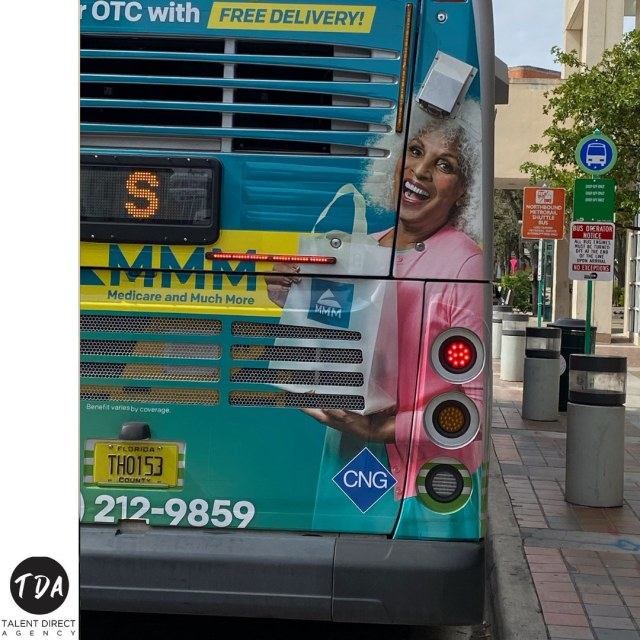 Loving our TDA'er Andrea on a bus, you go girl! Such a beautiful face!