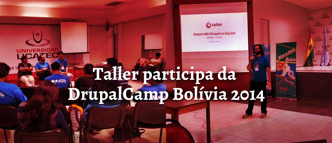 Taller na Drupal Camp Bolívia