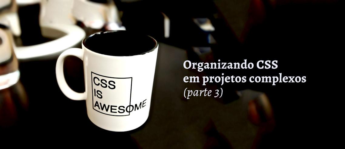 Organizando CSS em projetos complexos 3
