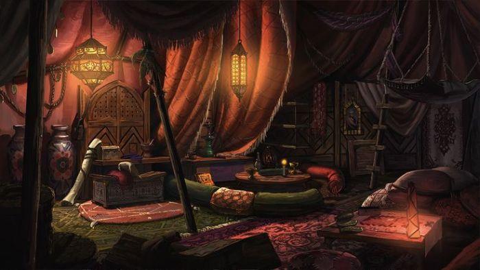 Sala de Repouso – Taverna Taller