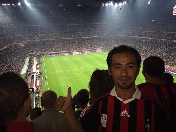 San Siro'da Milan-Juventus maçı. Bu bir rüyaydı ve gerçek oldu.