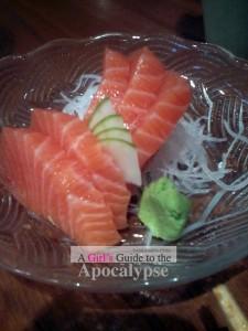 Marufuku - salmon sashimi