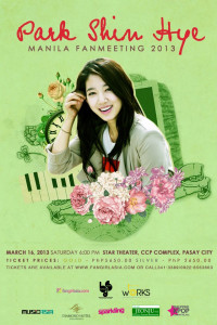 Park Shin Hye - Manila fan meeting
