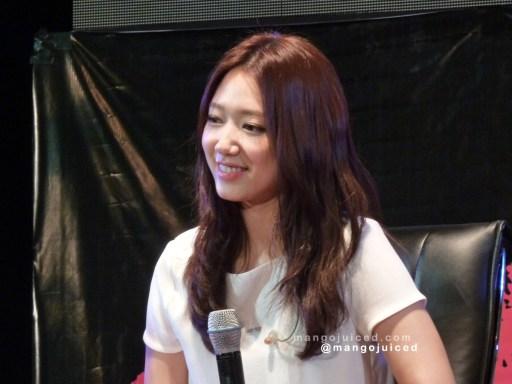 "Park Shin Hye ""Kiss of Angel"" Asia Tour - Manila, Philippines"