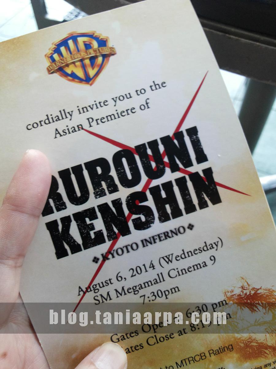 Rurouni Kenshin Asian Red Carpet Premiere Manila