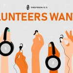 TaoTronics volunteer needed