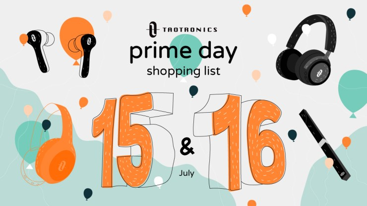 Amazon Prime Day TaoTronics Best Deals