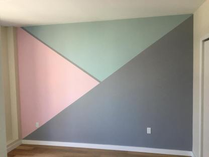 Accent wall by Brooklyn Tasker @walldecorspecialist