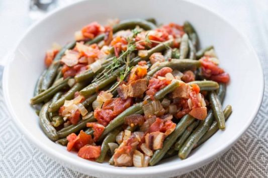 Potatoes In Green Beans