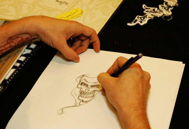 Tattoo Artist Sketch