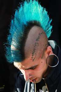 Mohawk at London Tattoo Convention