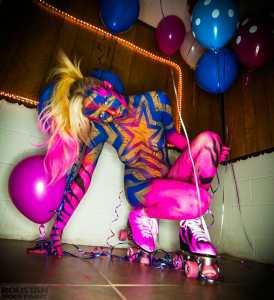 Roller Girl by Paul Roustan Girl