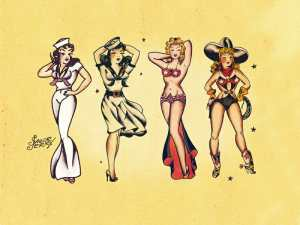 Sailor Jerry Classic Tattoo Designs