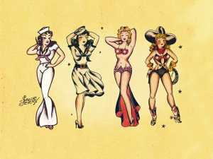 Sailor Jerry Classic Tattoo Designs