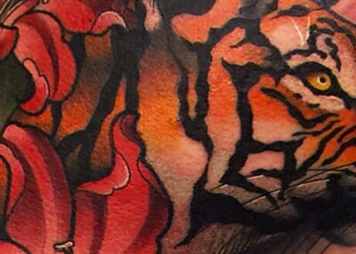 British Tattoo Artist Mike Stockings