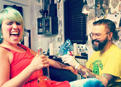 British Tattoo Artist Nick Whybrow