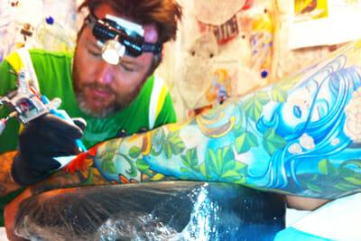 Tattoo Artist Aaron Della Vedova