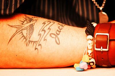 Ten Best Celebrity Tattoos