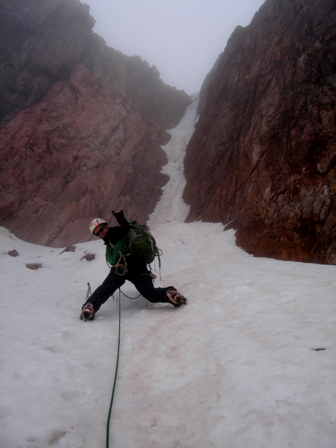 Pared Sur Nevado Chicon