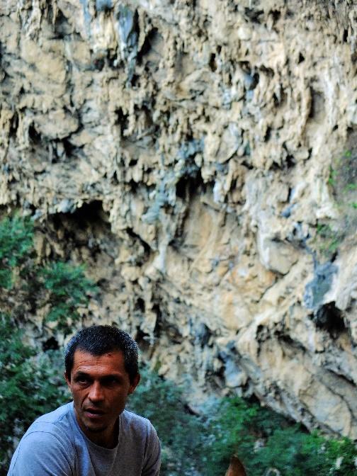 Luis Carlos García. Uno de los principales aperturistas del Chonta. Foto: Margarita Cardoso