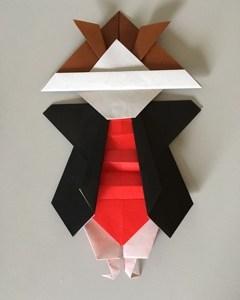 初陣飾り折り紙