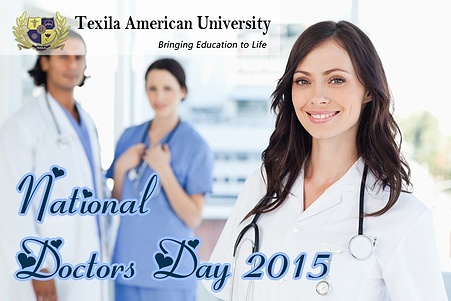 National Doctors day message from TAU president