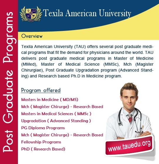 Texila-PG-Programs