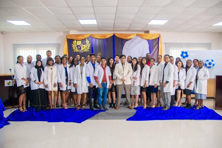 Texila white coat ceremony