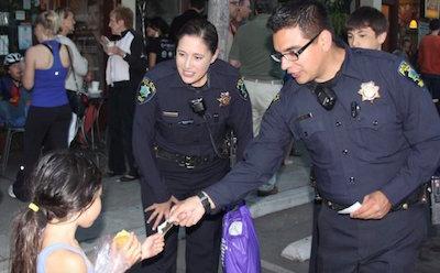 Menlo Park Police Department Helen Putnam Award