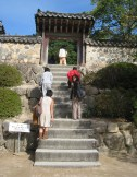 temple stairs