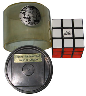 Hungarian-Made Rubik's cube from 1980