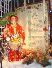 Dun Che Lao Ren, Chinese Santa Claus