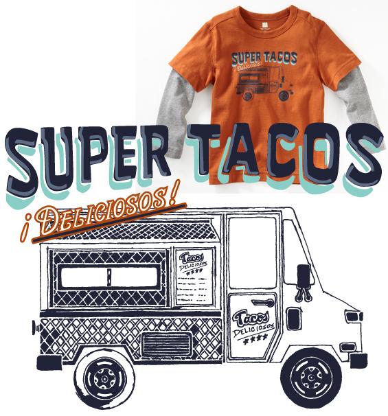 super tacos truck shirt