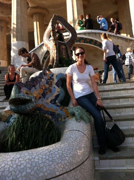 Park Guell Mosaic Lizard