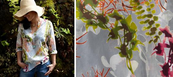 sun print tunic shirt dress