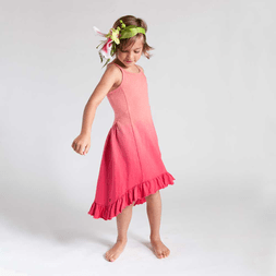 Bali-Inspired Girls Dress