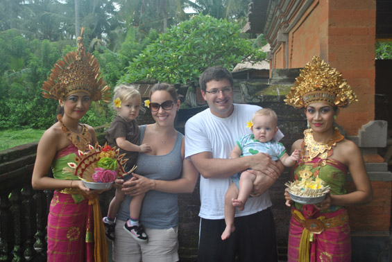 Bali Travel with Kids