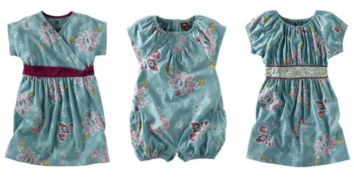 Batik girls dresses and rompers