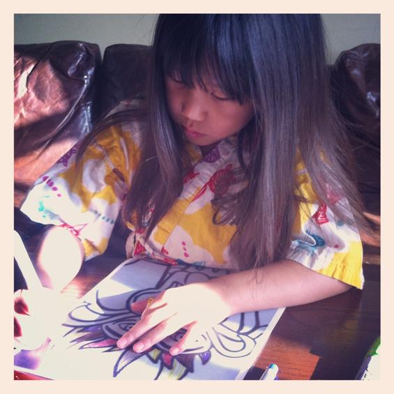 coloring book contest