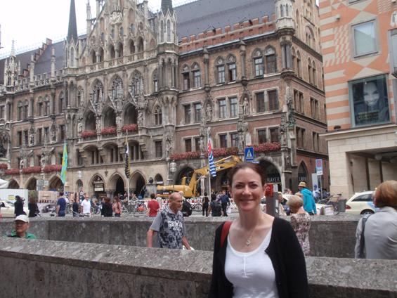 Rathaus in the Marienplatz, Munich.