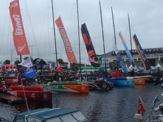 Racing Boats in Galway