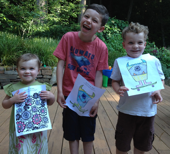 Free coloring book contest
