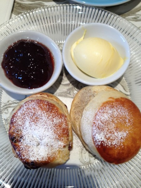 Duo of Scones at Fortnum & Mason