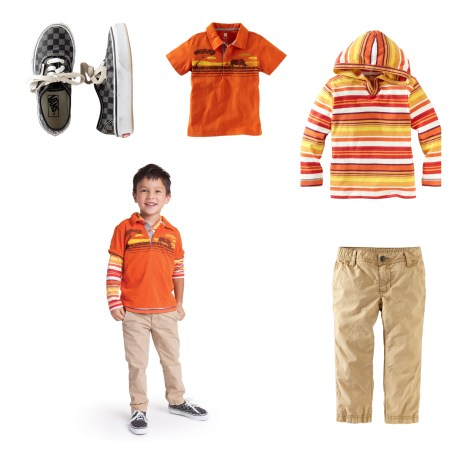 Boys layered outfit