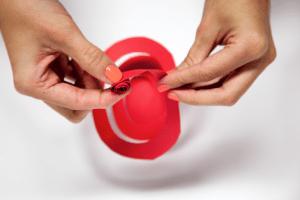 DIY Spiral Rose