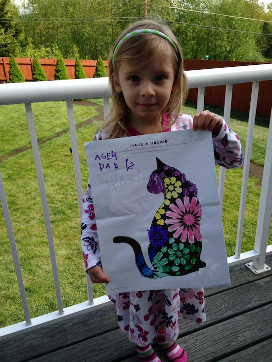 April Activity Book Winner