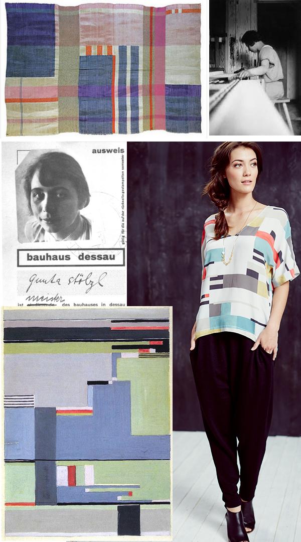 Gunta Stolzl inspired Women's Tunic